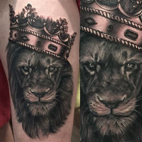 lion tattoos for men 25 best ideas about crown on mens