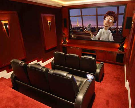 Home Theater Room Design Photo Professional Basement Home Theater Designs