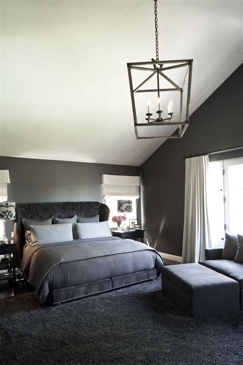 monochromatic palette modern bedroom interiors  color