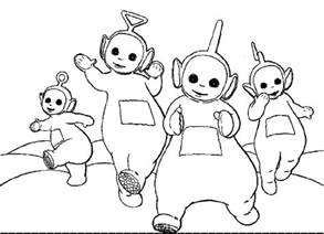 teletubbies colors free printable teletubbies coloring pages for