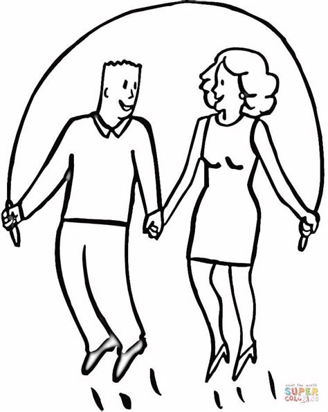 jump rope coloring page az coloring pages