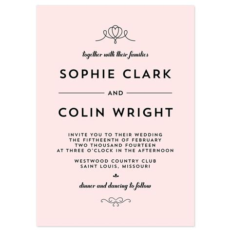 templates for invitations uk wedding invitations templates uk wblqual com