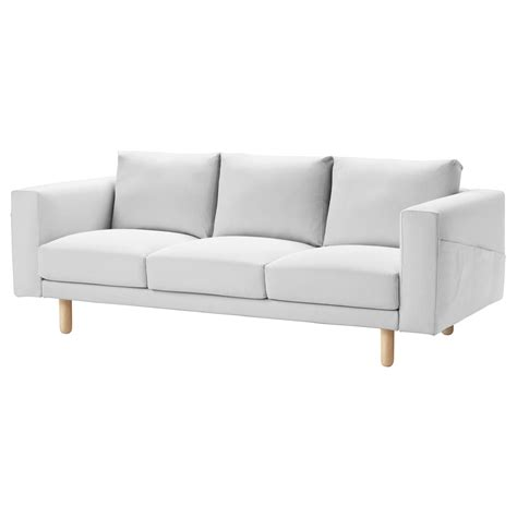 white ikea 3 seater sofa norsborg cover three seat sofa finnsta white ikea