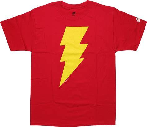buy logo t shirts buy shazam logo t shirt shazam symbol shirt at