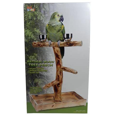 penn plax bird tree perch for large birds bird perches