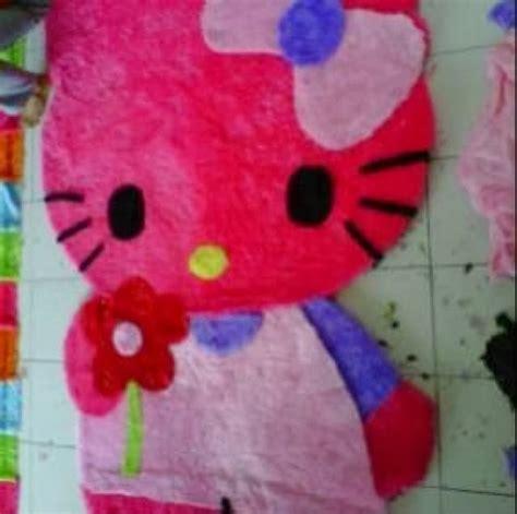 Karpet Murah Di Makassar prani shop karpet karakter murah bisa tambah nama