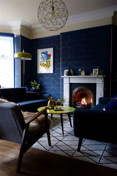 navy blue room accents interiors b a s blog how to plan your decorating budget mad about the house