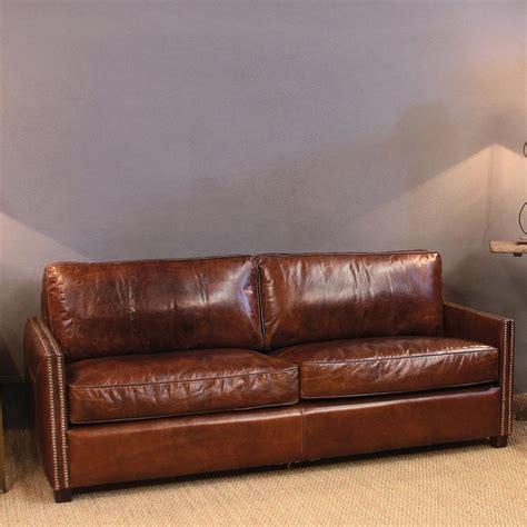 sofa en piel 10 sof 225 s vintage de piel 191 no te tumbas decorar net