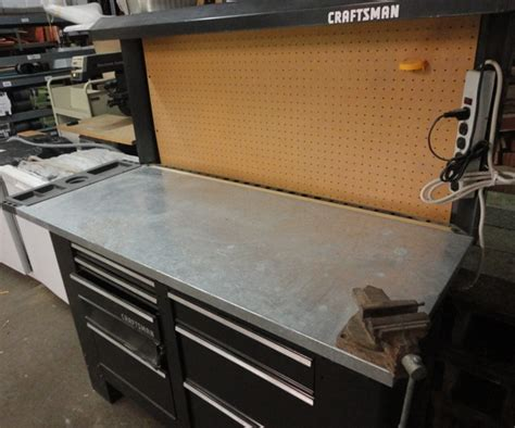 8 foot work bench 8 foot craftsman workbench 200 the stock pile