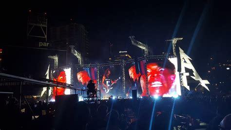 metallica koncert metallica concert petco park youtube