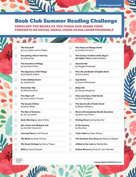 the summer reading challenge reading challenges penguin random house
