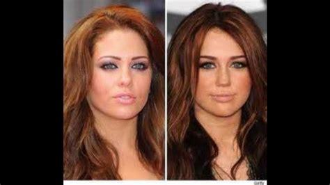 10 most look alike celebrities celebrity look alikes youtube