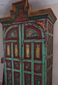 antique mexican armoire