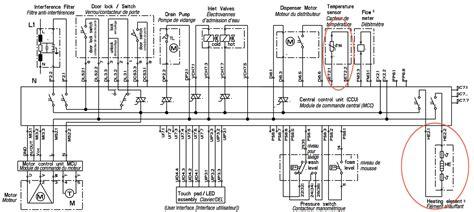 circuit diagram of lg washing machine circuit and