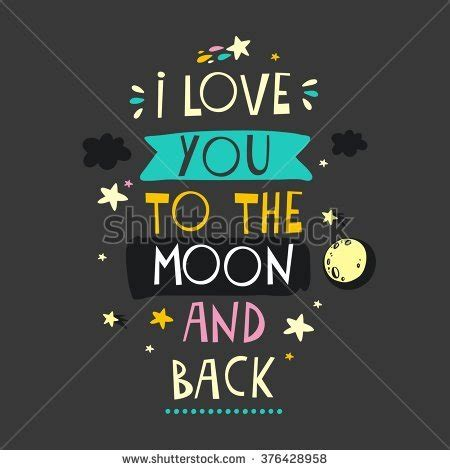 i love you to the moon and back stock images royalty free