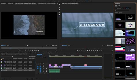 Uso De Modelos De Anima 231 245 Es No Premiere Pro Adobe Premiere Pro Essential Graphics Templates