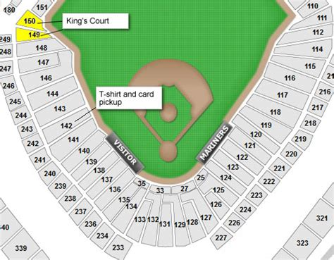safeco field section map seattle mariners safeco field seating chart interactive