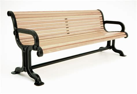 a bench timberform site furnishings
