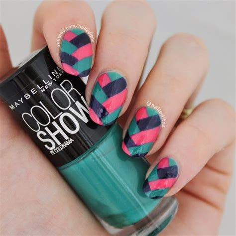 nail art tutorial easy no tools watch the tutorial on nailed it nz s youtube channel