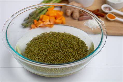 Ayurvedic Mung Bean Detox by Kitchari Cleansing Ayurvedic Recipe Nourish Move
