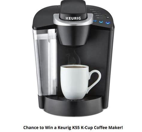 K Cup Sweepstakes - free kudosz keurig k cup coffee maker