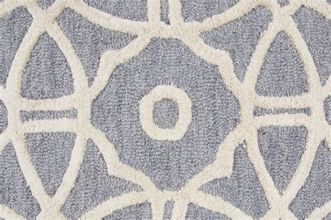 5 x 8 area rugs luniccia modern circles pattern wool area rug in gray ivory 5 x 8