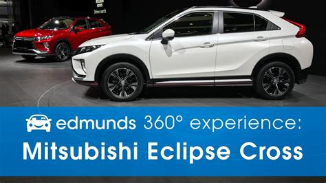 mitsubishi crossover white mitsubishi eclipse cross 360 176 experience at the 2017