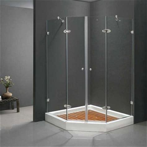 42 Shower Door Vigo Industries Frameless Neo Angle Door Shower Enclosure 42 Quot X 42 Quot Free Shipping