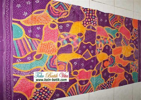 Kain Batik Tulis Madura Tulis Motif Bunga Tangkai Kalem kain batik unik murah kain batik