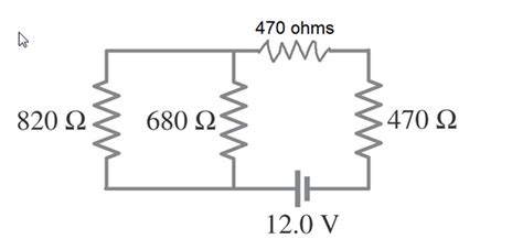 voltage drop across 5 ohm resistor how would you calculate equivalent resistance wha chegg