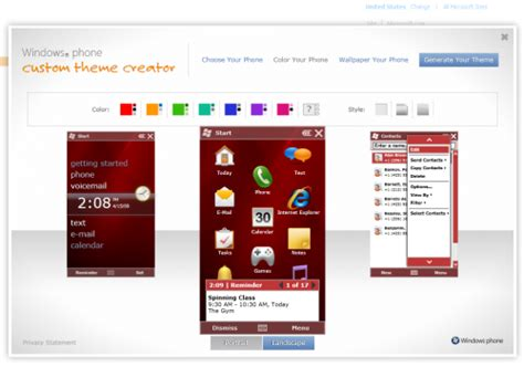 Theme Creator App Download | download custom theme creator for windows mobile 6 5