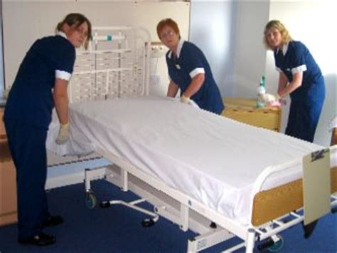 how to make a hospital bed our team ent kent