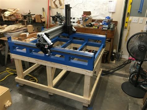 build  cnc router woodworking talk