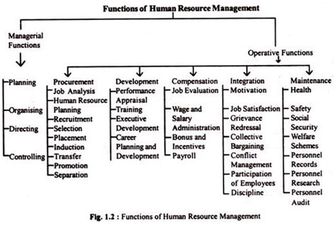 What Is The Purpose Of The Department Of Interior by Human Resource Management Meaning Objectives Scope And Functions