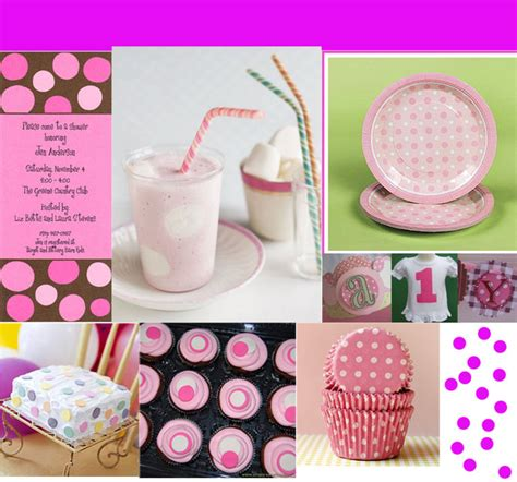 Polka Dots Baby Shower by Polka Dot Baby Shower Decorations Best Baby Decoration