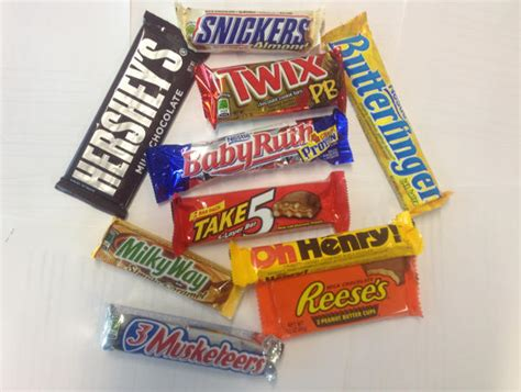 top 10 candy bars top ten american chocolate bars