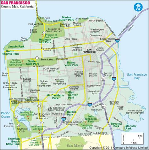 san francisco map of neighborhoods san francisco real estate and market trends