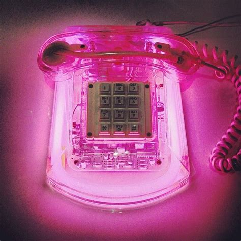 neon light phone roxanne neon phone pink to the boys wink