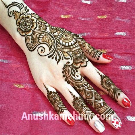 pics of designs arabic mehndi design anushka mehndi