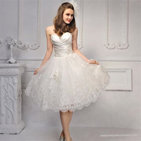 short wedding dresses for luxurious bridal look