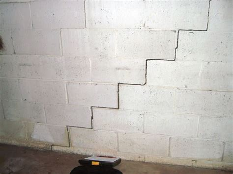 Bowing Foundation Wall Repairs In Ohio And Indiana How To Fix Basement Wall Cracks