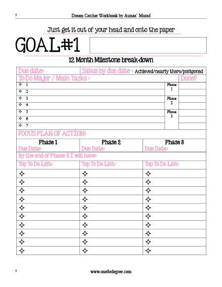 printable 2016 goal planner weekly goal planner template pertamini co