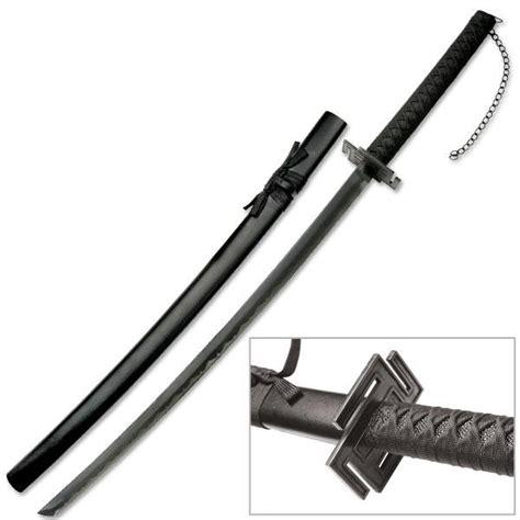 Pedang Samurai Katana Ichigo Bankay Black ichigo s bankai sword overall length 39 inch