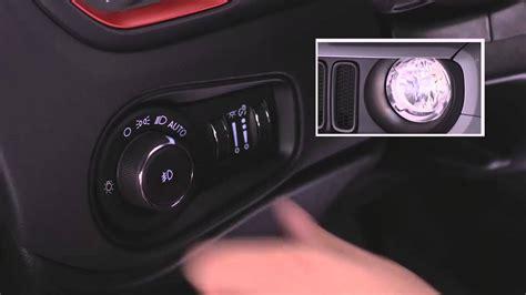 2016 jeep lights 2016 jeep renegade headlight switch