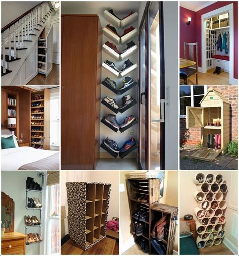 15 best shoe rack ideas images on shoe 15 clever narrow and vertical shoe storage ideas