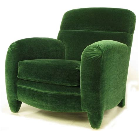 emerald green velvet wingback chair angelo donghia deco club chair in emerald green mohair