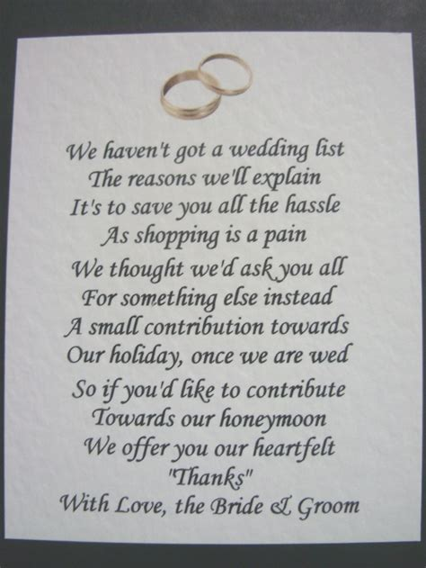 how much money to give at a wedding wedding poem asking for money google search wedding