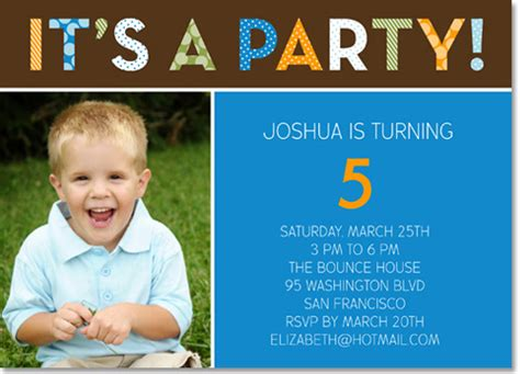 Photo Birthday Invitations Ideas Bagvania Free Printable Invitation Template 5th Birthday Invitation Templates