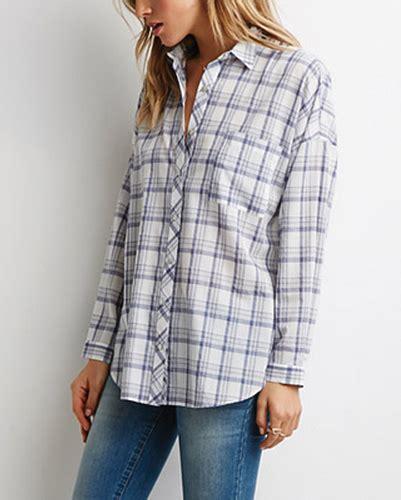 Promo Fashion White Flanel white plaid flannel shirt wholesale