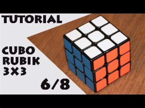 tutorial rubik layer 3 tutorial cubo rubik 3x3 6 de 8 orientar cruz